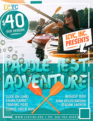 2021 LCYC Paddlefest Adventure