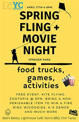 2021 LCYC Spring Fling & Movie Night