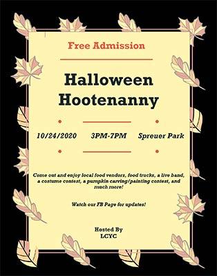 2020 LCYC Halloween Hootenanny